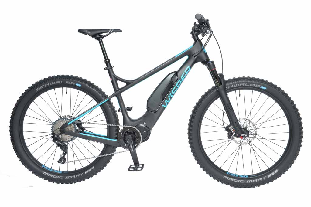 Wolf carbon e-mountain bike